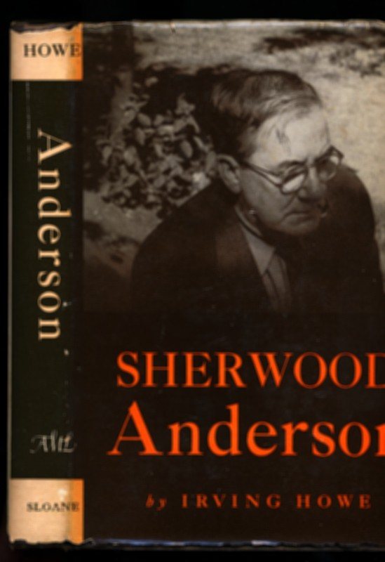 Image for SHERWOOD ANDERSON, A BIOGRAPHY