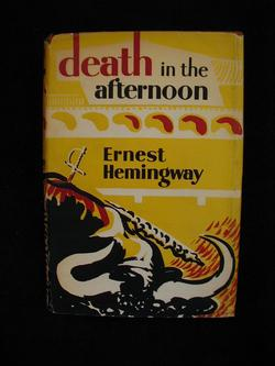 Image for DEATH IN THE AFTERNOON